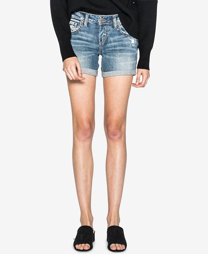 Silver Jeans Co. - Sam Denim Boyfriend Shorts