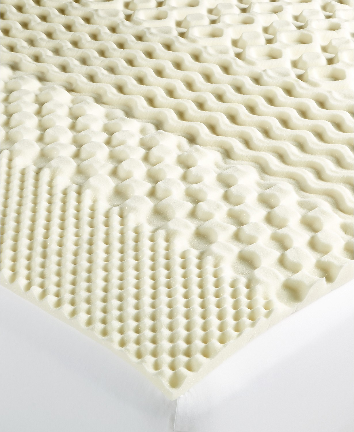 Martha Stewart Essentials 7-Zone Twin Memory Foam Mattress Topper