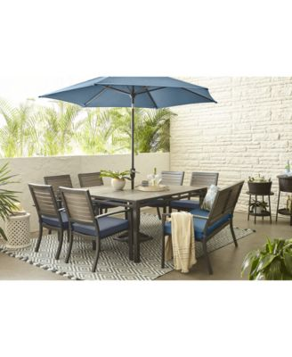Harlough II Outdoor 8-Pc. Dining Set (62
