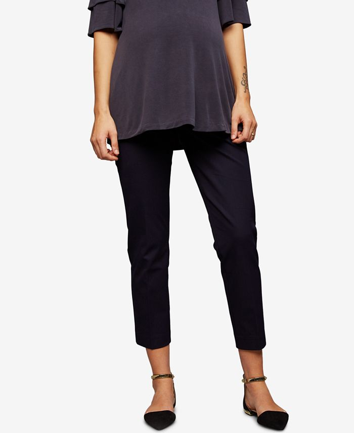 A Pea in the Pod - Maternity Cropped Pants