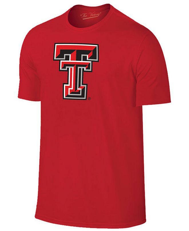 New Agenda Men's Texas Tech Red Raiders Big Logo T-Shirt