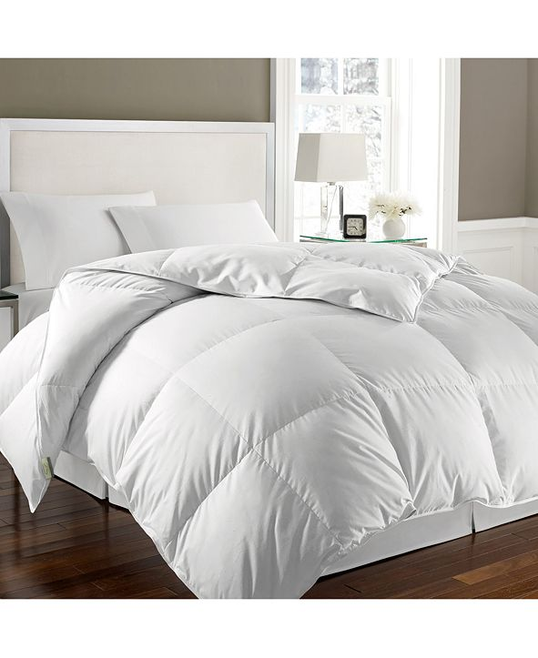 Kathy Ireland Essentials White Goose Feather & Down Full/Queen Comforter