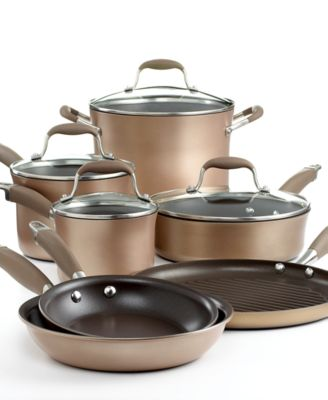 Anolon Advanced Bronze Nonstick 11 Piece Cookware Set