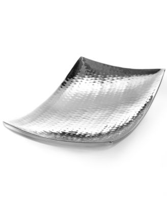 Hammered Curve Tray