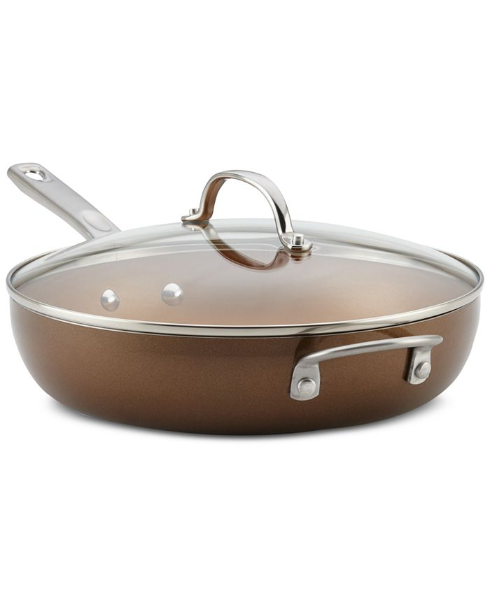"""Ayesha Curry - 12"""" Covered Deep Skillet"""