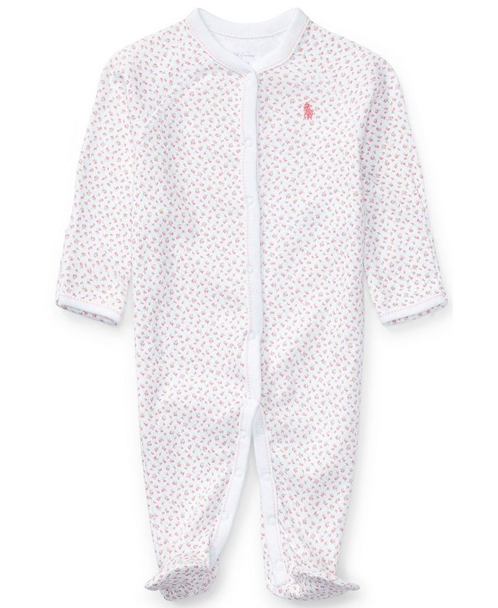 Polo Ralph Lauren - Baby Coverall, Baby Girls Print Coverall