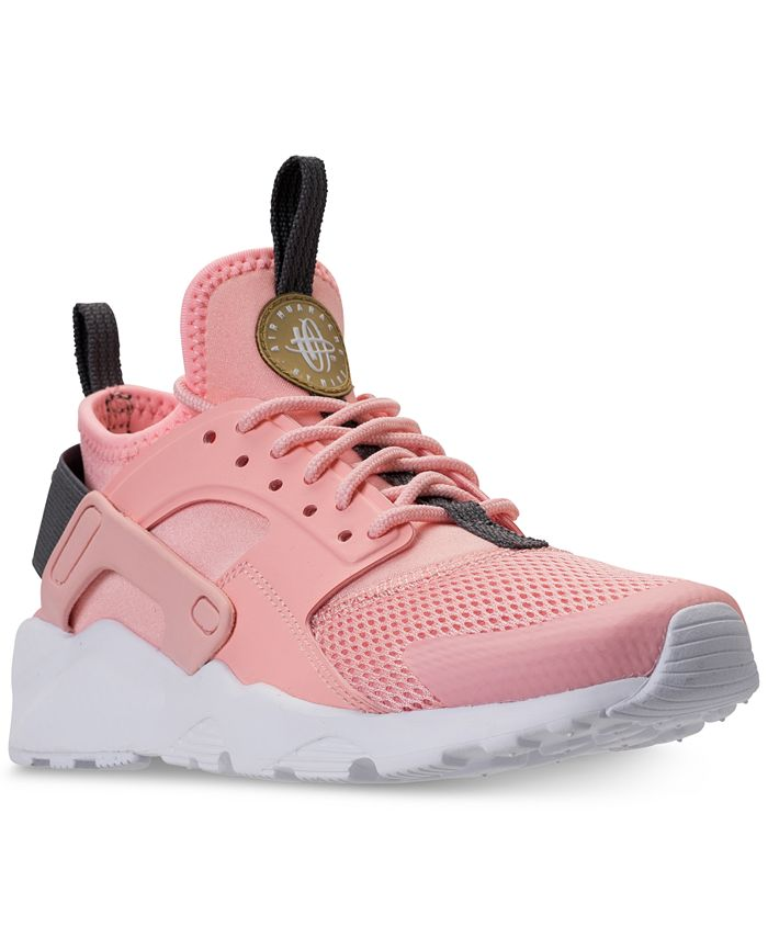 Nike Big Girls' Air Huarache Run Ultra Running Sneakers from ...