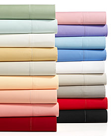 Charter Club Damask Solid Extra Deep Pocket Sheet Sets, 550 Thread Count 100% Supima Cotton, Created for Macy's