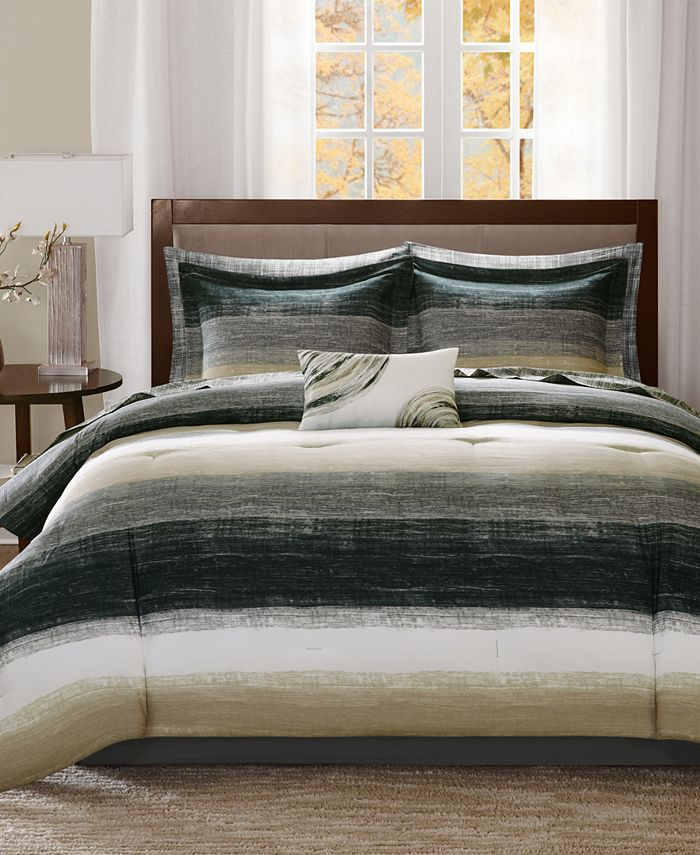 Madison Park - Essentials Saben 9-Pc. Full Comforter Set