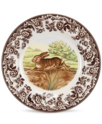 Spode Dinnerware, Woodland Rabbit Salad Plate