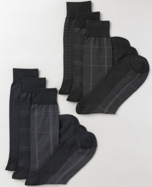 Club Room Socks, 3 Pack Dress Sock