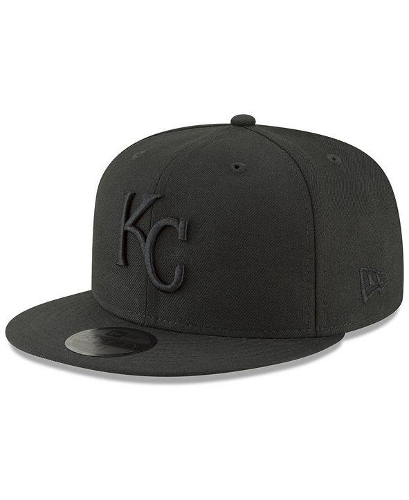 New Era Kansas City Royals Blackout 59FIFTY FITTED Cap