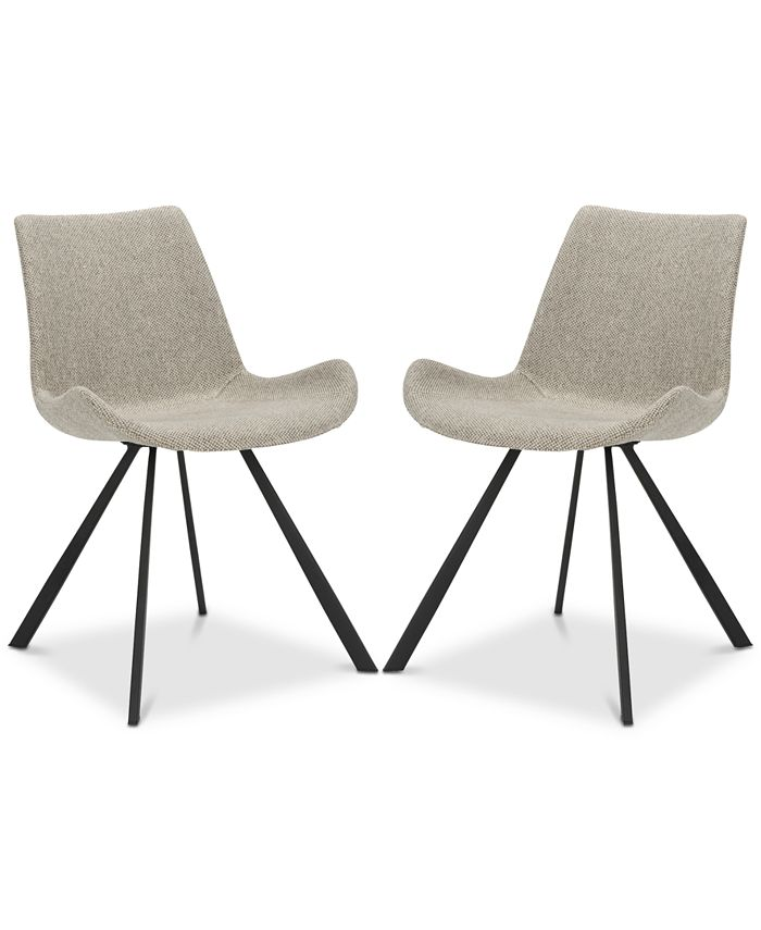 Safavieh - Brom Dining Chair (Set Of 2), Quick Ship