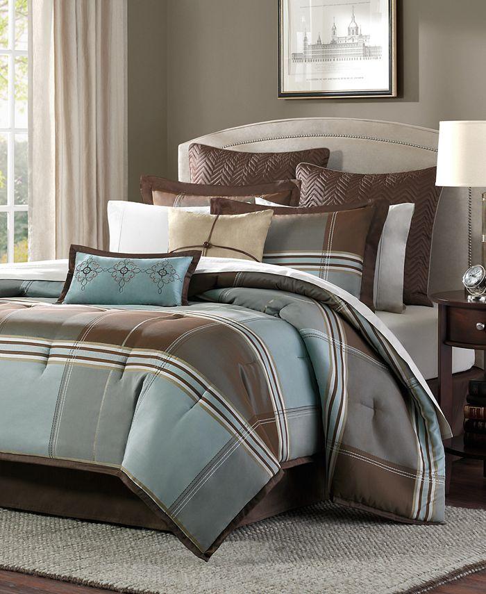 Madison Park - Lincoln Square California King 8-Pc. Comforter Set