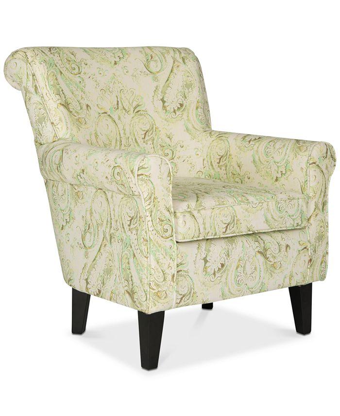 Safavieh - Allman Accent Chair, Quick Ship