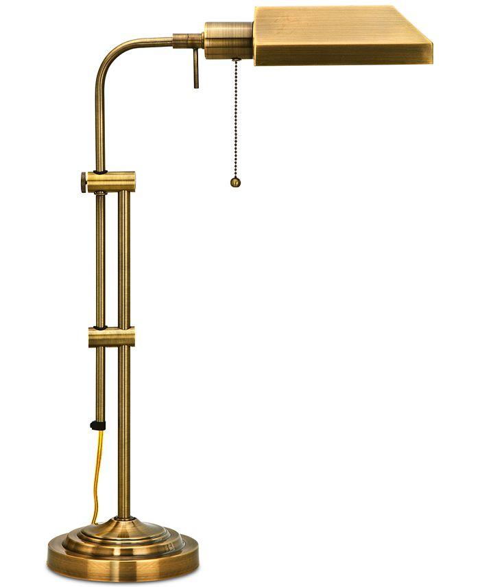 Cal Lighting - Pharmacy Table Lamp with Adjustable Pole