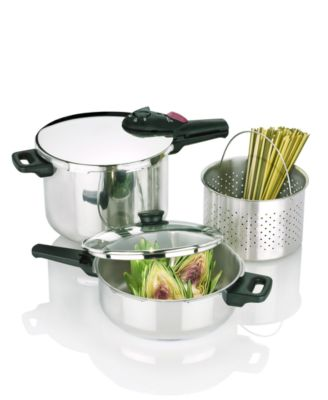"Fagor ""Elite"" Pressure Cooker Set"