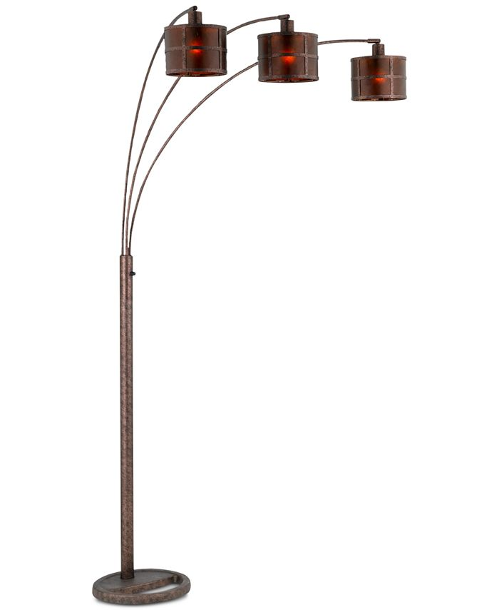 Cal Lighting - Mica Arc Lamp with Heavy Base