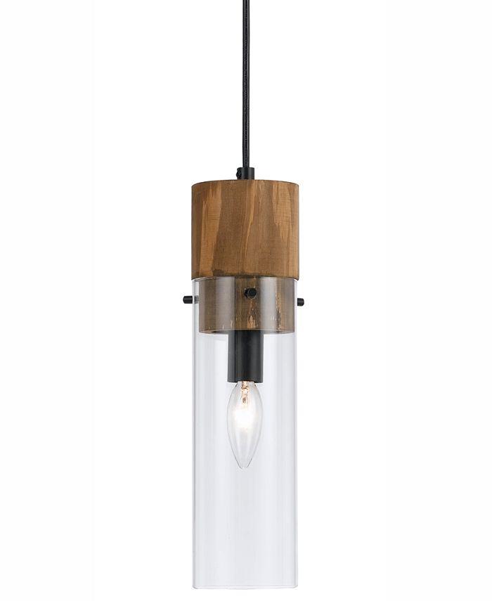 Cal Lighting - 60W Spheroid Glass Pendant