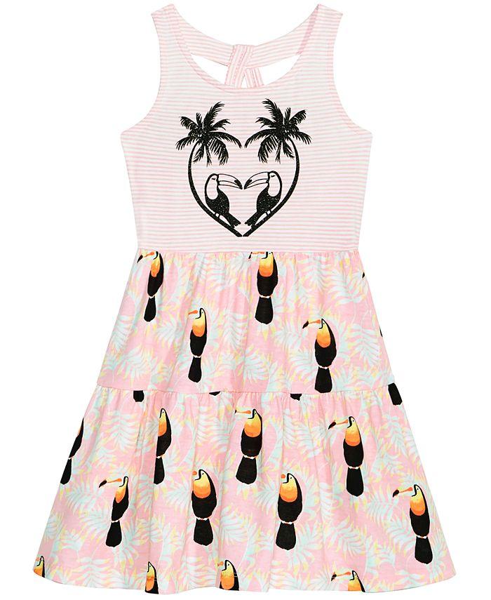 Epic Threads - Keyhole-Back Tank Dress, Toddler Girls