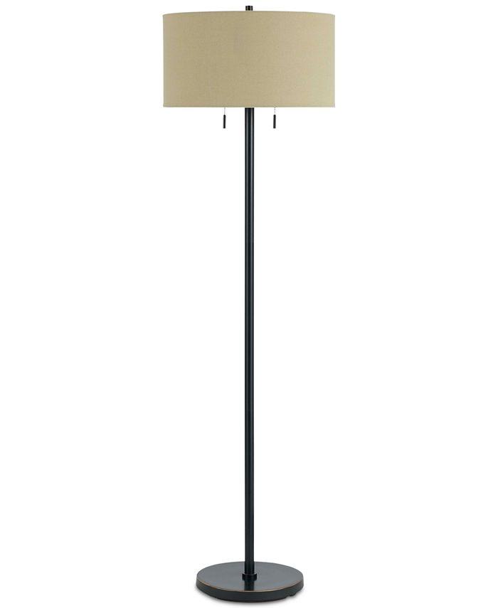 Cal Lighting - 60W Calais Metal Floor Lamp