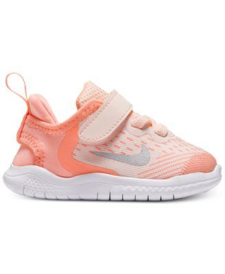 Nike Toddler Girls' Free Run 2018
