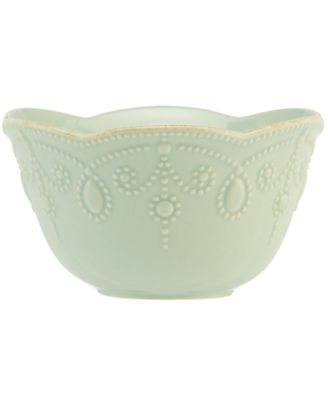 Lenox Dinnerware, French Perle Ice Blue Fruit Bowl