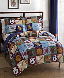 Team Sport 3-Pc. Twin Comforter Set