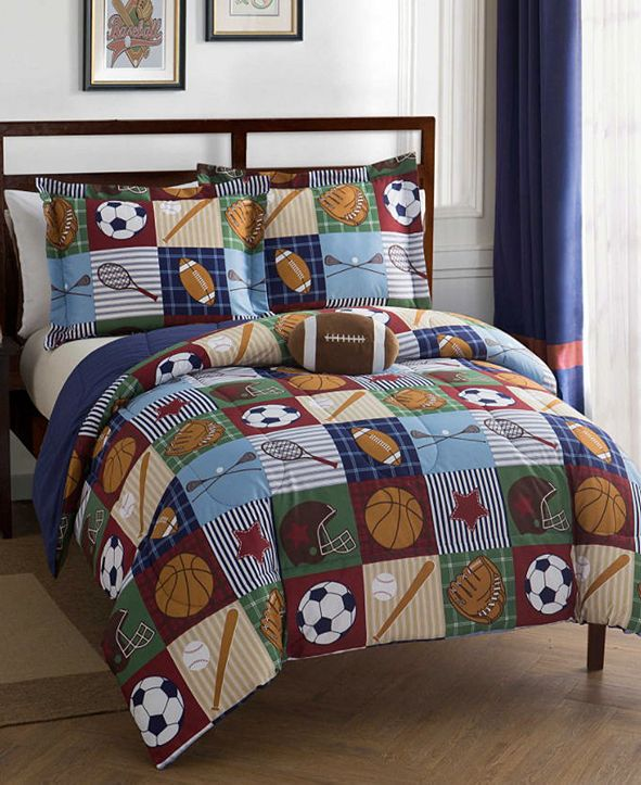 Mytex Team Sport 3-Pc. Twin Comforter Set