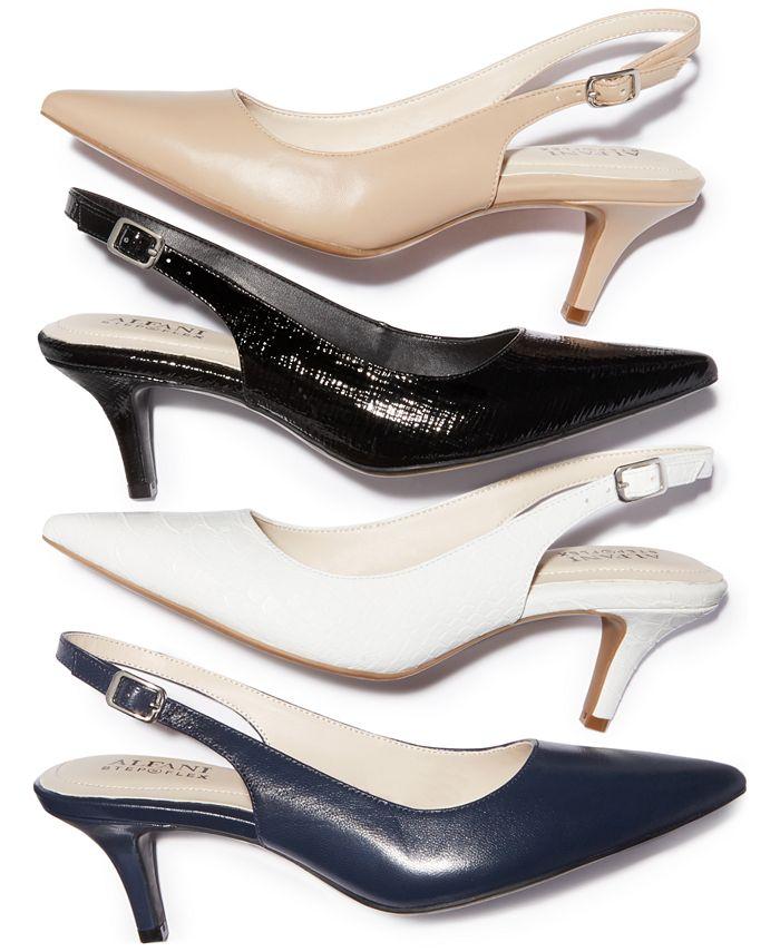 Alfani - Women's Babbsy Pointed-Toe Slingback Pumps