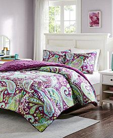 Intelligent Design Melissa Reversible 3-Pc. Full/Queen Comforter Set