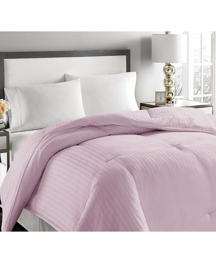 Royal Luxe - Luxury Damask Stripe Twin Comforter