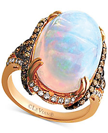 Le Vian® Opal (6 1/2 ct. t.w.) & Diamond (3/4 ct. t.w.) in 14k Rose Gold