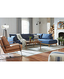 Jollene Fabric Sectional and Sofa Collection, Created for Macy's