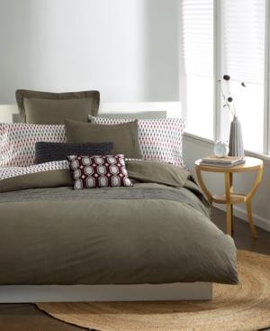 Bar III Bedding, Garment Wash Taupe Full/Queen Comforter Bedding