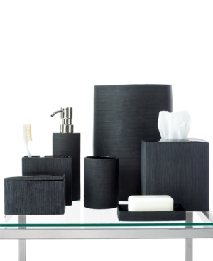 Hotel Collection Bath Accessories, Ribbed Toothbrush Holder