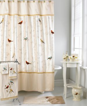 Extra Wide Curtain Rods Charleston Shower Curtain