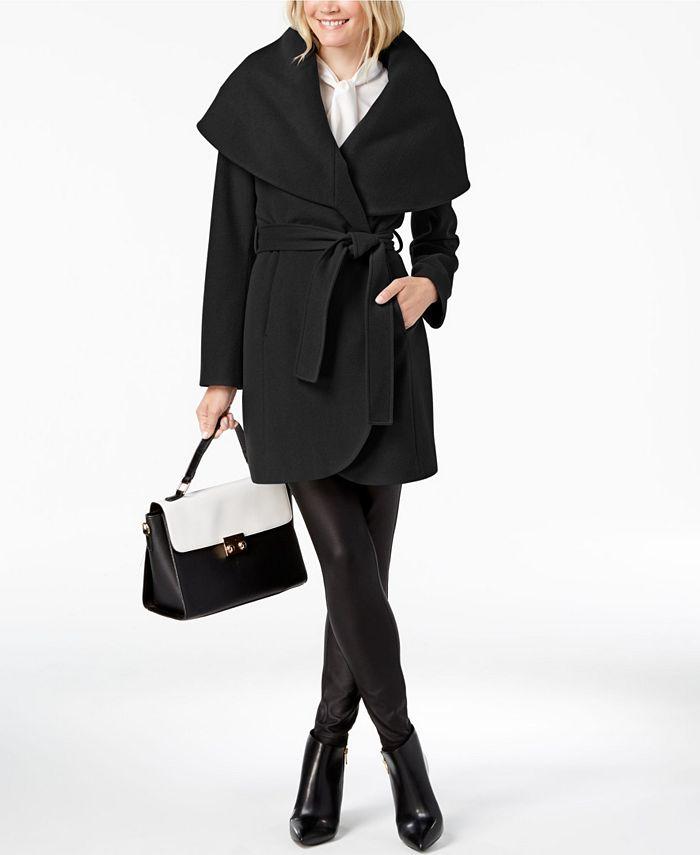 Tahari - Marla Belted Wrap Coat
