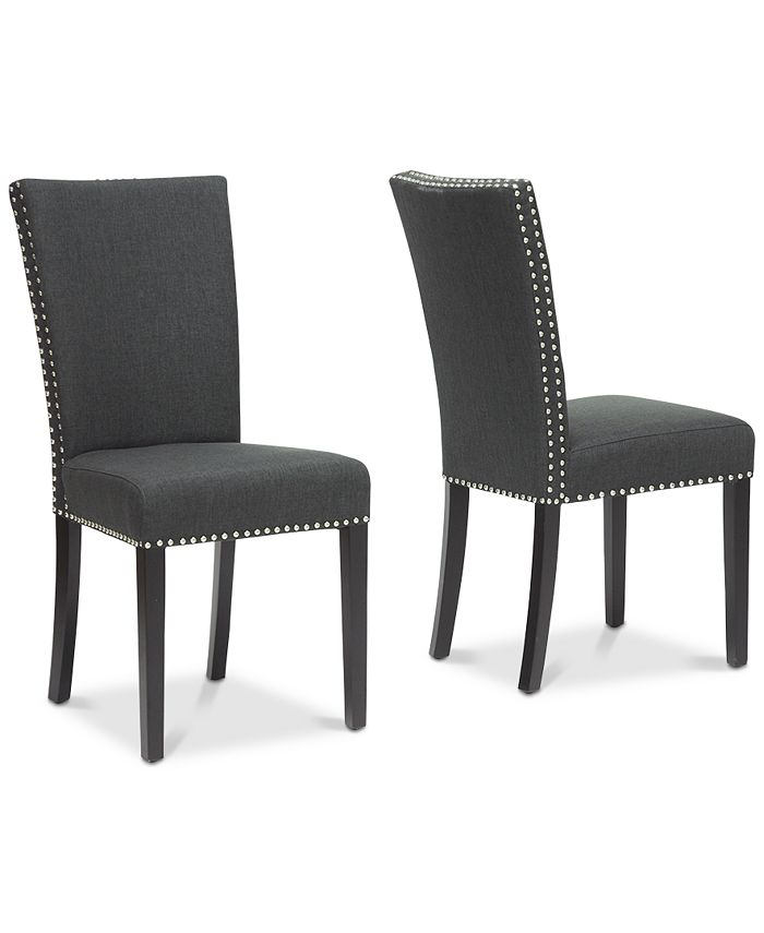 Furniture - Zoltan Dining Chair (Set of 2), Quick Ship