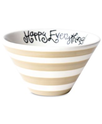 Cobble Stripe Be Happy Mod Small Bowl