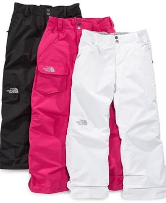 The North Face Kids Pants Girls Derby Insulated Ski Pants