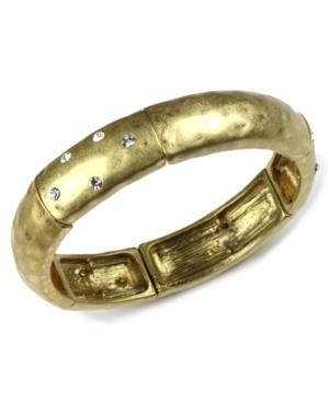 Jones New York Bracelet, Gold Tone Stretch Bracelet