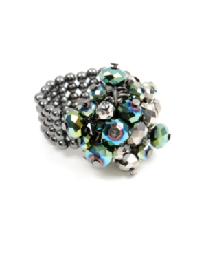 Kenneth Cole New York Ring, Multicolor Cluster Stretch Ring