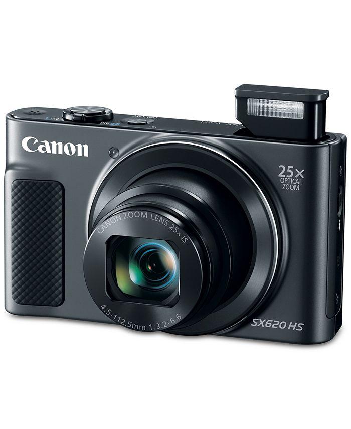 Canon - PowerShot SX620 Black HS Kit