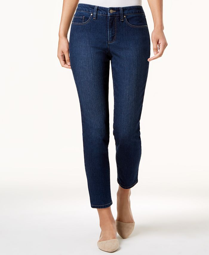 Charter Club - Jeans, Modern Straight-Leg Ankle, Saturated Wash