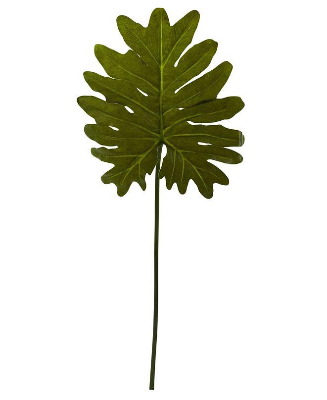 Nearly Natural 12-Pc. Selloum Philo Single Leaf Artificial Stem Set