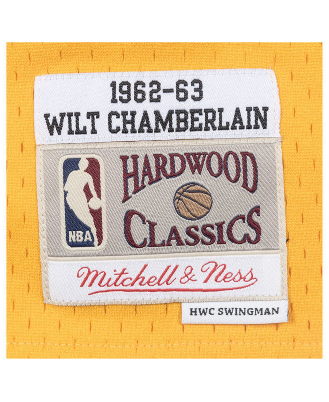 Mitchell & Ness Men's Wilt Chamberlain San Francisco Warriors Hardwood Classic Swingman Jersey & Reviews - Sports Fan Shop By Lids - Men - Macy's