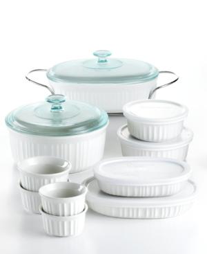 Corningware Bakeware, French White 17 Piece Set
