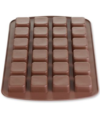 Wilton Silicone 24 Cavity Square Brownie Bite Mold