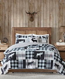 Woolrich Sweetwater Reversible 4-Pc. Oversized King/California King Quilt Set
